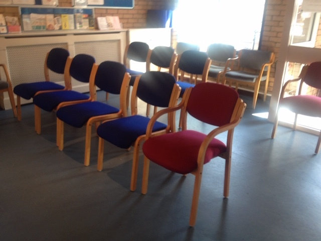 Furniture for waiting rooms